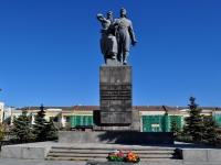 neighbour house: st. Chelyuskintsev. monument Воинам Уральского добровольческого танкового корпуса