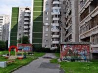 Yekaterinburg, Krestinsky st, house 63. Apartment house