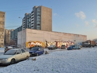 Yekaterinburg, service building ТеплопунктKrestinsky st, service building Теплопункт