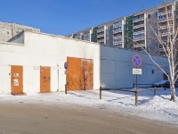 Yekaterinburg, service building ТеплопунктRodonitivaya st, service building Теплопункт