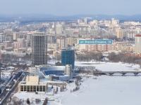 Екатеринбург, улица Бориса Ельцина, дом 1А. офисное здание