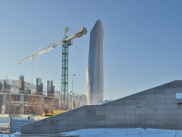 Yekaterinburg, monument Б.Н. ЕльцинуBoris Yeltsyn st, monument Б.Н. Ельцину
