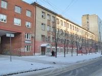 Екатеринбург, общежитие УрГУПС, Колледжа железнодорожного транспорта, №3, улица Братьев Быковых, дом 32