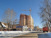 neighbour house: alley. Tramvayny, house 15/СТР. building under construction