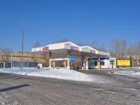 叶卡捷琳堡市, Pokhodnaya st, 房屋 78. 加油站