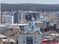 Yekaterinburg, temple во имя Преображения Господня, Pokhodnaya st, house 2