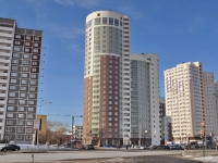Yekaterinburg, Luganskaya st, house 6. Apartment house