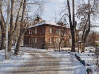 Екатеринбург, улица Хуторская, дом 10. многоквартирный дом