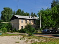Yekaterinburg, Latyshskaya st, house 87. Apartment house
