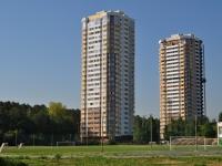 Екатеринбург, улица Академика Постовского, дом 6. многоквартирный дом