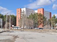 Yekaterinburg, hostel УрО РАН, Уральское отделение РАН, Amundsen st, house 120/2