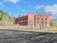 Екатеринбург, улица Амундсена, неиспользуемое здание