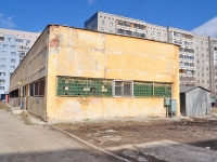 Yekaterinburg, service building ТеплопунктAmundsen st, service building Теплопункт