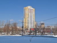 Yekaterinburg, Ostrovsky st, house 5. Apartment house