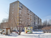Yekaterinburg, Reshetnikov Ln, house 3. Apartment house