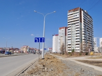 Yekaterinburg, Krasnolesya st, house 18. Apartment house