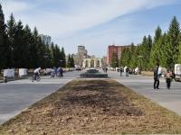 Екатеринбург, улица Машинная. парк ЦПКиО им. Маяковского