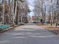 Yekaterinburg, park ЦПКиО им. МаяковскогоBazovy alley, park ЦПКиО им. Маяковского