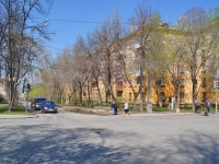 Yekaterinburg, Babushkina st, house 24. Apartment house
