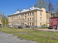 neighbour house: st. Babushkina, house 25. Apartment house