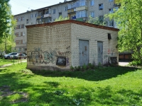 Yekaterinburg, Krasnoflotsev st, service building