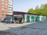 Yekaterinburg, Starykh Bolshevikov str, garage (parking)