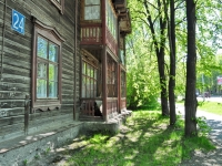 Yekaterinburg, Shefskaya str, house 24. Apartment house