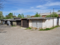 Yekaterinburg, Klubny (Sharbovsky) alley, garage (parking)