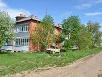 Yekaterinburg, Kalinin (Shabrovsky) st, house 53. Apartment house