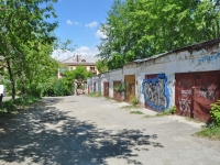 Yekaterinburg, Uglovoy alley, garage (parking)