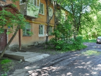 neighbour house: alley. Alpinistov, house 45. Apartment house