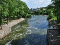 Yekaterinburg, плотинаGriboedov st, плотина