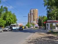 Yekaterinburg, Ordenonostsev st, house 4. Apartment house