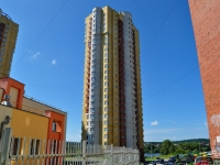 Yekaterinburg, Ordenonostsev st, house 6. Apartment house