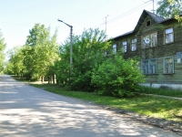 Yekaterinburg, Zaporozhsky alley, house 4. Apartment house