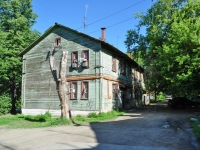 Yekaterinburg, Zaporozhsky alley, house 6. Apartment house