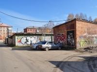 Екатеринбург, улица 40 лет Октября. хозяйственный корпус
