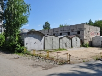 Yekaterinburg, Kalinin st, garage (parking)