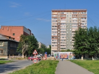 Yekaterinburg, Krasnykh Bortsov st, house 12. Apartment house