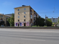 Yekaterinburg, Pobedy st, house 13. Apartment house
