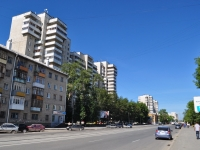 Yekaterinburg, Pobedy st, house 37. Apartment house
