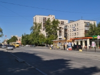 Yekaterinburg, Pobedy st, house 38. Apartment house