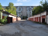 Yekaterinburg, Pobedy st, garage (parking)