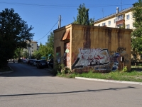 Yekaterinburg, Pobedy st, service building