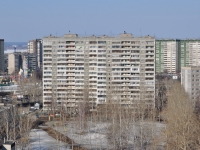 Екатеринбург, улица Бебеля, дом 152. многоквартирный дом.