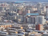 Екатеринбург, Асбестовский переулок, дом 2/1. многоквартирный дом