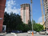 Екатеринбург, улица Милицейская, дом 3. строящееся здание