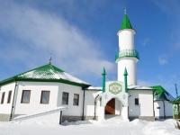 Берёзовский, улица Советская, дом 9. мечеть Айгуль