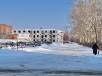 Берёзовский, улица Шиловская. строящееся здание