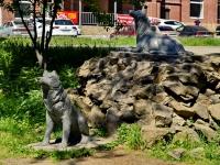 Beryozovsky, Gagarin st, 雕塑